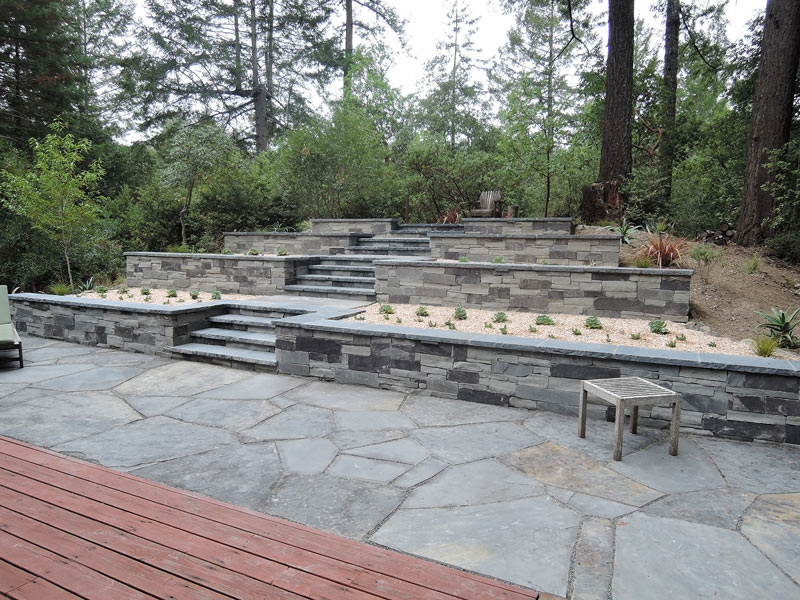 Guerneville Retreat Creative Environments Landscape